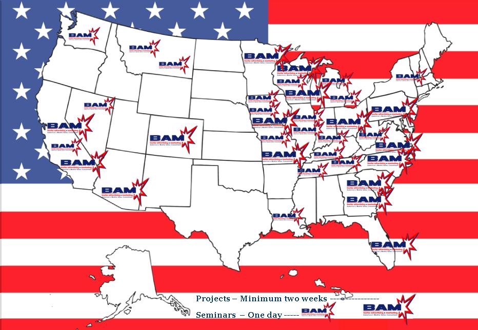 BAM USA MAP